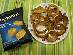 Popchips onion rings. Love me some Popchips!