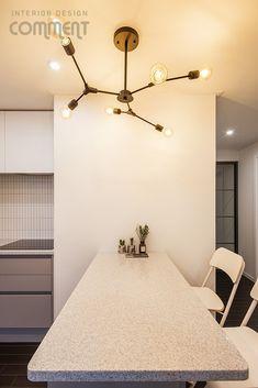 공간마다 특색 있는 복도식 아파트 작은집 꾸미기 : 25평 거실 인테리어 : 네이버 블로그 Ceiling Lights, Lighting, Home Decor, Decoration Home, Light Fixtures, Room Decor, Ceiling Lamp, Lights, Lightning