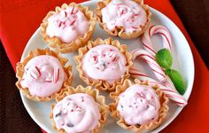 Hungry Girl - Mini Peppermint Cream Pies