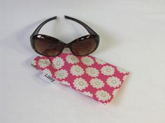 Glasses mobile/cell phone case  made with a pink by LizzyMullender etsy.com/shop/LizzyMullender