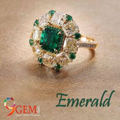 #Emerald should be 7 #Ratti & should be in #Gold or Silver Ring on the Little finger, Guide to #WearingEmerald @ http://bit.ly/2iBJvcA