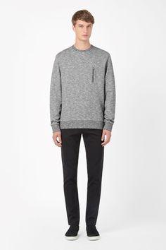 COS | Zip pocket sweatshirt