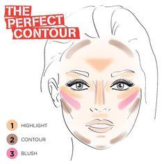 18 Easy To Do Basic Contour Makeup Tutor. - 18 Easy To Do Basic Contour Makeup Tutorials - Makeup Trends, Makeup 101, Makeup Guide, Free Makeup, Easy Makeup, Makeup Products, Makeup Ideas, Makeup Hacks, Makeup Goals