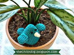 How To Crochet Blue Bird of Happiness - Free Pattern