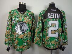 Chicago Blackhawks 2 Duncan KEITH 2013 Veterans Day Practice V-Neck Jersey  - Digital Camo 7020d5367