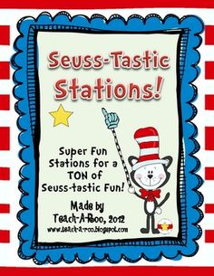 These activities are designed to help you celebrate all things Seuss! Either as stations for organized fun during Read Across America day, or as c...