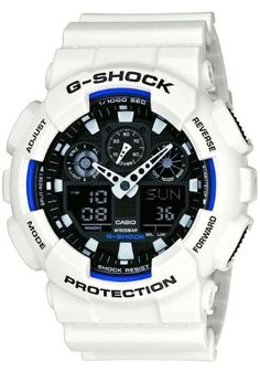 Men's Wrist Watches - Casio  Mens Watches  Casio GShock  Ref Ga100B7Aer * You can get additional details at the image link. (This is an Amazon affiliate link)