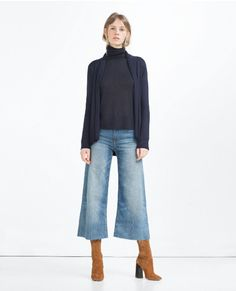 womens wardrobe with less than a denim outfit 12 Mode Outfits, Casual Outfits, Fashion Outfits, Denim Fashion, Fashion Mode, Work Fashion, Fall Winter Outfits, Autumn Winter Fashion, Look Jean