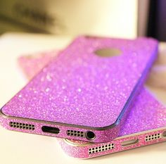 Shinning Sparkling Sticker for iPhone 5