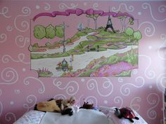 San Antonio paris girls bedroom theme - Mural Photos in San ...