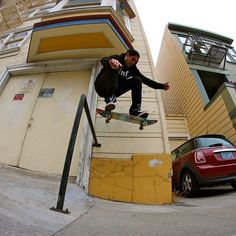 Shalom Tribesmen @seancho up and over #shalomcpp #shalomtribe #tribe #tribesmen #skate #skateboarding #skatelife #sf - @shalomcpp- #webstagram