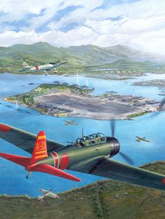 Tora Tora Tora The Attack On Pearl Harbor Begins Painting