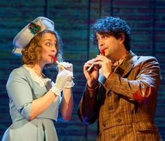 Carrie Hope Fletcher and Lee Mead in Chitty Chitty Bang Bang tour Lee Mead, Carrie Hope Fletcher, Dan And Phil, Musical Theatre, Role Models, I Movie, Carry On, Youtubers, Actors & Actresses