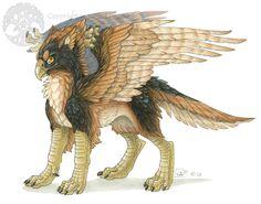 Griffon - Avian Companion by *Shadow-Wolf on deviantART