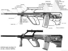 Steyr AUG A1 StG-77Loading that magazine is a pain! Get your Magazine speedloader today! http://www.amazon.com/shops/raeind