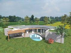 plan-de-maison-plain-pied-contemporain-modèle-INTIMA-plan-de-masse ...