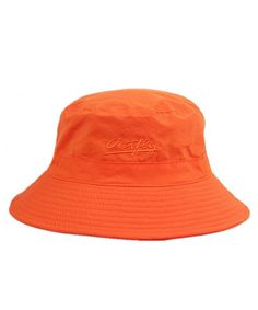 61fb067b Unisex Mens Womens Daily Summer Hat Plain Sun Protection Bucket Hat Orange  CD12CSI0H9H