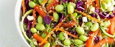 Rad Rainbow Raw Pad Thai, and 29 Meat-Free, no-cook Meals Vegan Menu, Vegan Dinner Recipes, Raw Vegan Recipes, Vegan Recipes Easy, Vegetarian Meals, Delicious Recipes, Vegan Raw, Thai Vegan, Raw Vegan Dinners