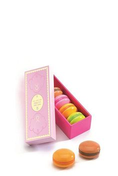 Wooden Play Macarons