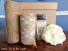 DIY Gift Card Box Supplies-- Sweet Tea in the South gifts card How to make an easy wedding gift card box Wood Card Box, Diy Card Box, Wedding Gift Card Box, Gift Card Boxes, Diy Gift Box, Wedding Boxes, Wedding Gifts, Wedding Favors, Wedding Stuff