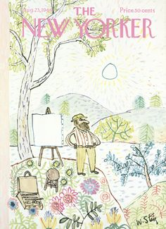 The New Yorker - Saturday, August 23, 1969 - Issue # 2323 - Vol. 45 - N° 27 - Cover by : William Steig