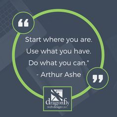 Inspirational Quote – Arthur Ashe
