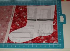 DIY stockings! I think I'm going to try this!!