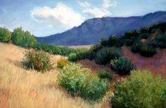 Landscape Painting in Pastels by Deborah Secor