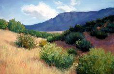 Landscape Painting in Pastels by Deborah Secor