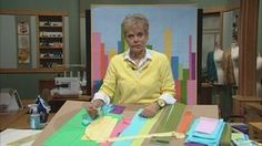 Quick Column Quilts, Part 1 Video from Sewing with Nancy. Watch the 30-minute video online. Learn to use columns instead of blocks in your quilts.