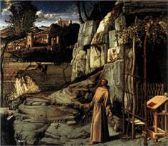 St Francis in Ecstasy - Giovanni Bellini