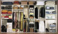 Фото из статьи: 15 гениальных правил хранения вещей и одежды