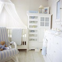 Blue & White Nursery...love!