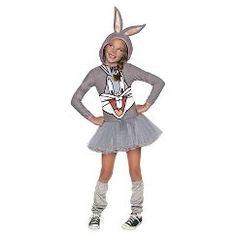 Bugs Bunny Girls Child Costume