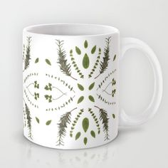 HERBS COLLAGE Mug by Miles of Light - $15.00