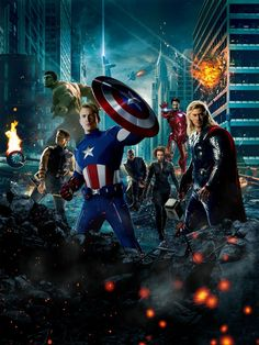 New posters listed.  The Avengers, Dark Knight Rises, Coca-Cola