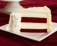 Red Velvet Cheesecake from Cheesecake Factory