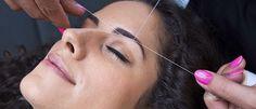 L'épilation des sourcils au fil | Clin d'oeil