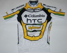 8b8a2454434 MOA HTC HIGHROAD TEAM GIRO UCI TOUR COLUMBIA SCOTT CYCLING JERSEY MAGLIA  RARE