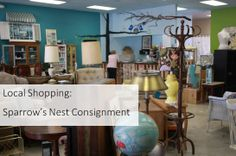 Local Shopping Sparrow's Nest Consignment