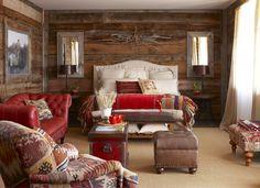 Il legno conquista la camera da letto, regalando sogni rilassati e in perfetta armonia con la natura. Fantasie e trame tartan completano l'invito ad entrare! #Dalani #Chalet #Style