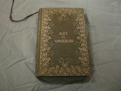 Vintage Alice in Wonderland Book by Carroll | eBay
