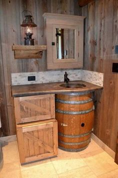 Like a rustic look for your restroom? We can restore and refinish any surface to give it a new look.