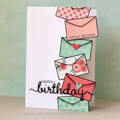 Belated Happy Birthday, Nancy (Anni-Karten)