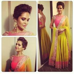 If you are searching for the latest Indian wedding fashion inspiration for a wedding, look no further. Indian Wedding Fashion, Indian Bridal Wear, Indian Fashion, Womens Fashion, Indian Attire, Indian Ethnic Wear, Indian Style, Lehenga Choli, Anarkali