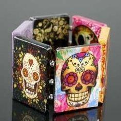 Skulls:  #Skulls cuff.