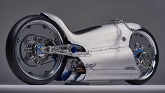 Makes the Tron bike look dull - This one-off ultra-futuristic electric motorcycle is an exquisite piece of automotive art : Luxurylaunches Custom Motorcycle Parts, Motorcycle Design, Tron Bike, Forging Metal, New Motorcycles, Automotive Art, Motorbikes, Futuristic, 3 D