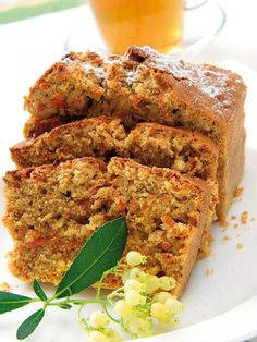 image Baking Recipes, Dessert Recipes, Desserts, Pan Dulce, Carrot Cake, Crepes, Meatloaf, Banana Bread, Carrots