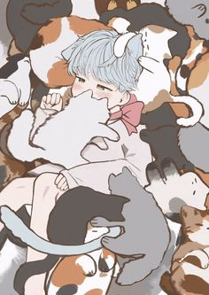 Started: 120719 End: - Taehyung x Yoongi _ Taehyung found a box in front of his door and finally he got a kitten Same person who has Wusanidol_ Fanart Bts, Yoonmin Fanart, Cute Anime Boy, Anime Guys, Kpop Drawings, Arte Sketchbook, Bts Chibi, Cat Art, Bts Wallpaper