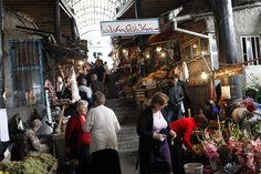 The marketplace in Telavi, Republic of Georgia.
